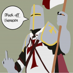 Fuck off Saracen