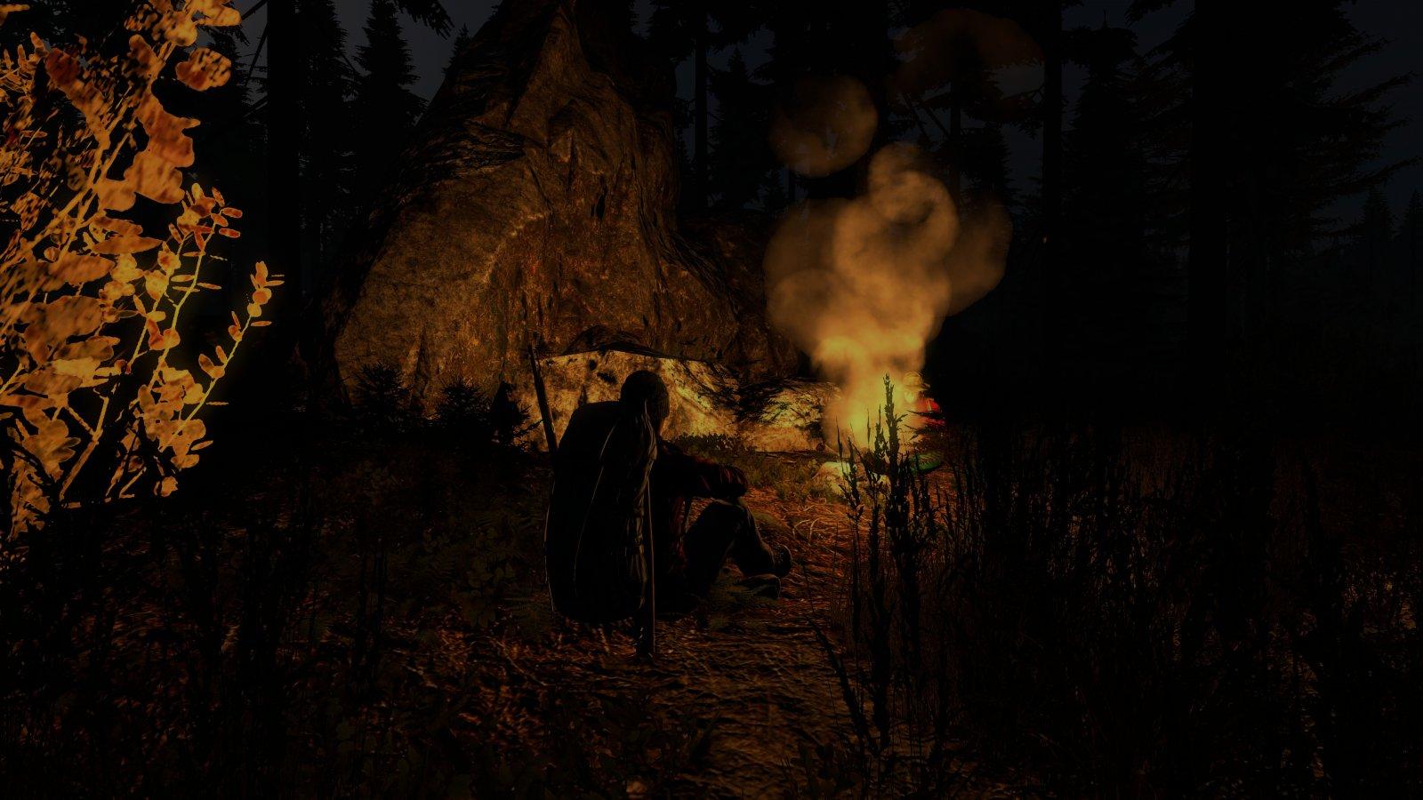 Campfire break