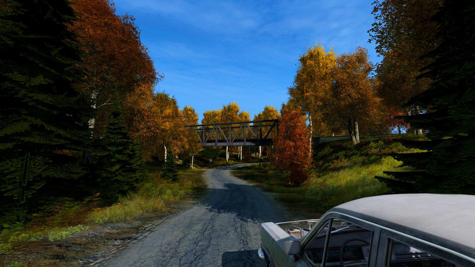 Car and Bridge