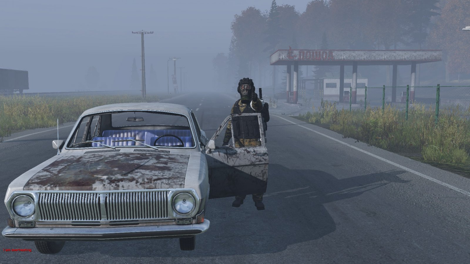 Top lad. Gave me a lift from Novo to cherno (The Pagans V2)