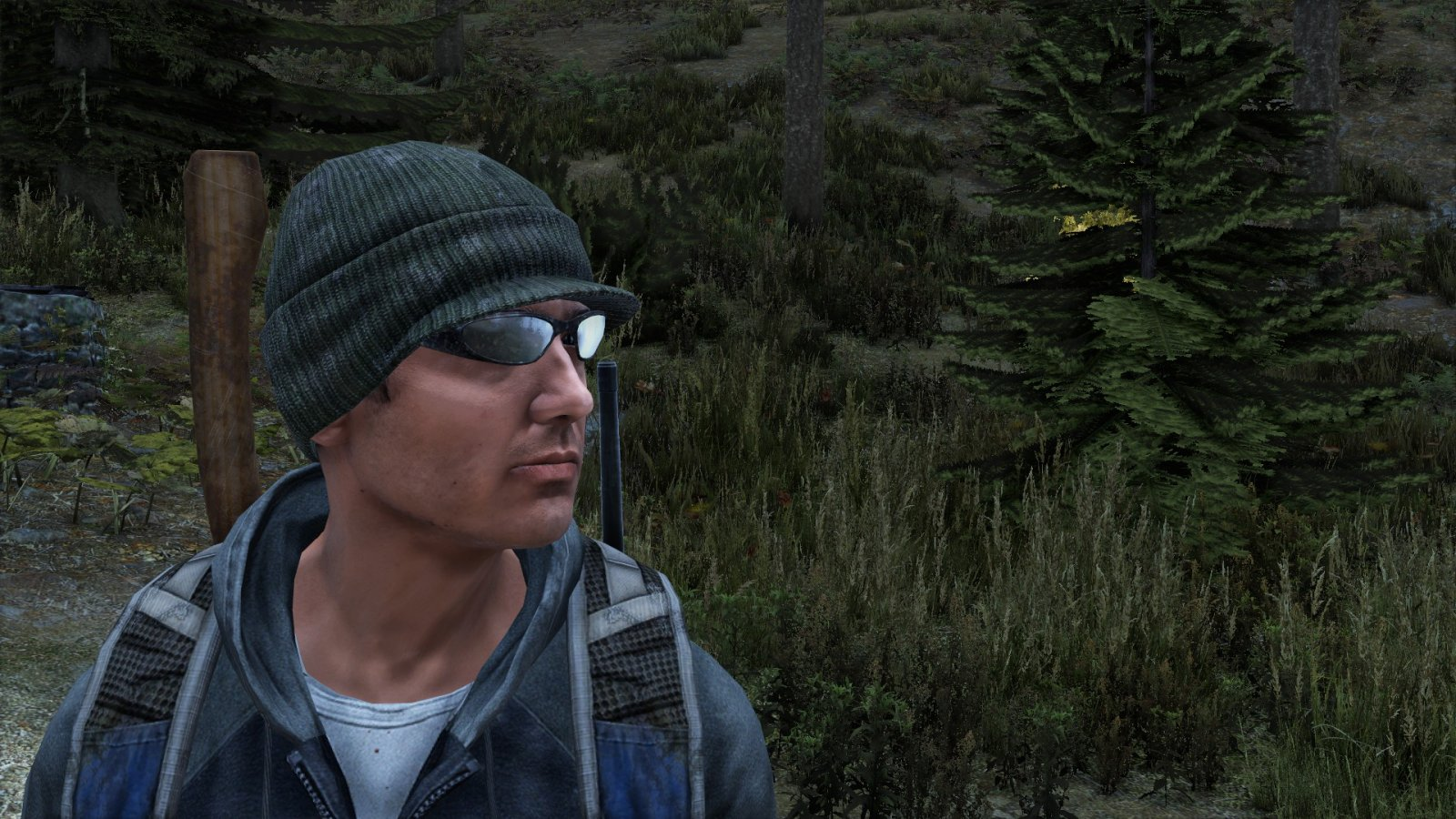 Arter and his signature Joey X glasses (Heathens V1)