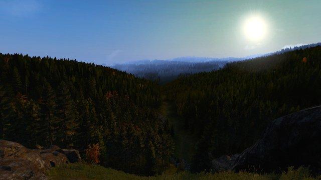 The Valley Below...