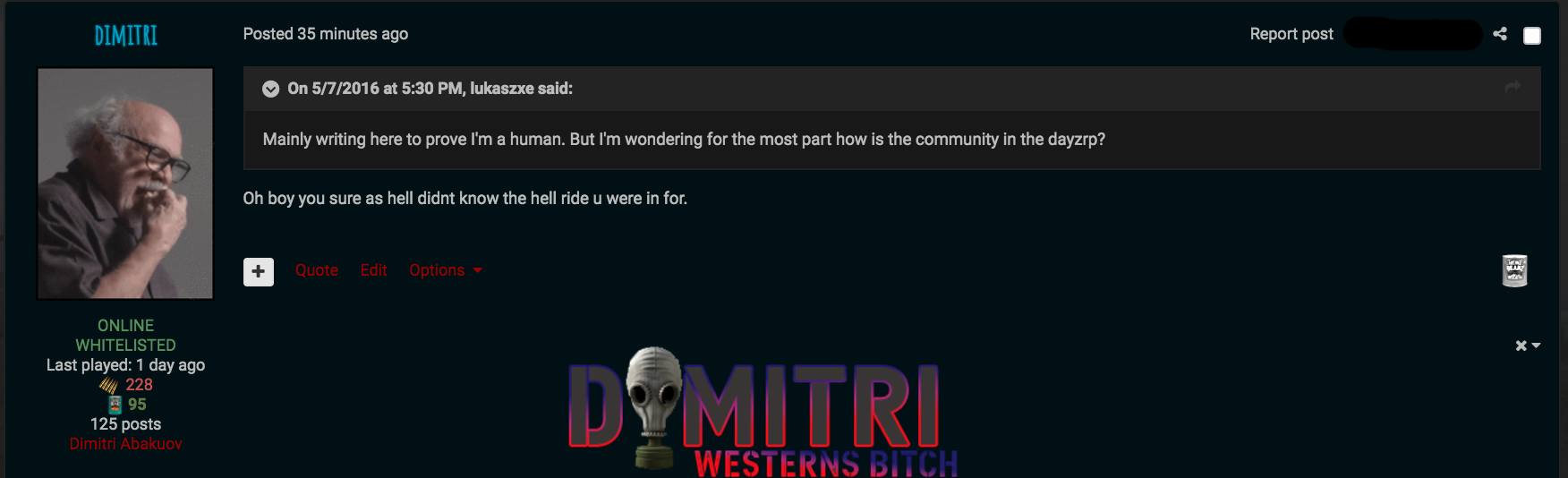 Dimitri's Content - Page 8 - DayZRP