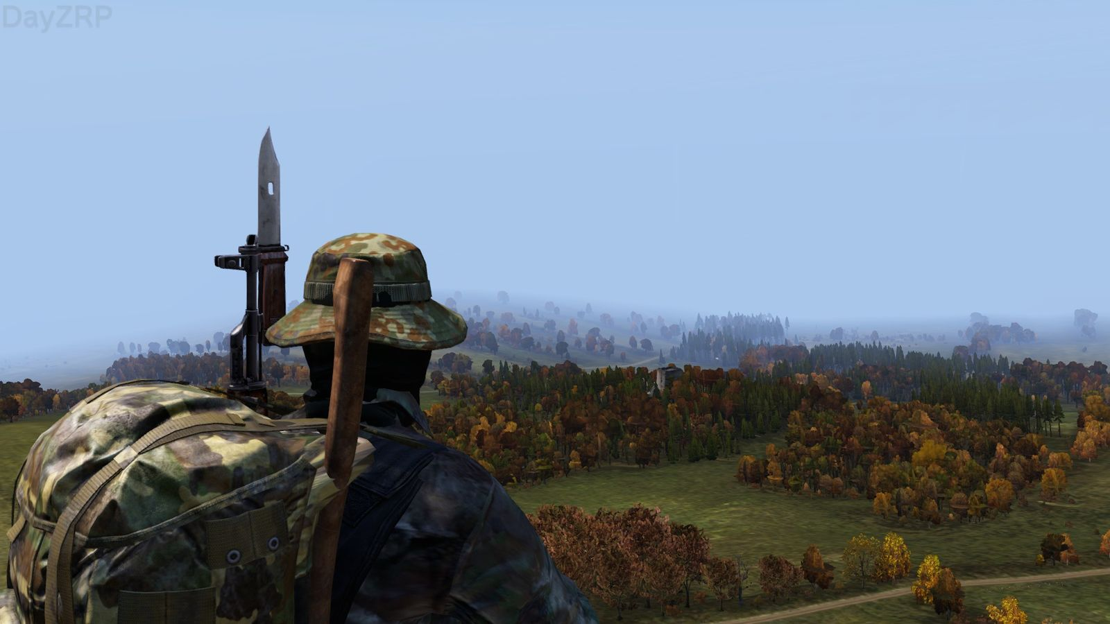 Alice Backpack Dayz castle in the distance - dayz standalone - dayzrp