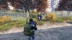 Zombie vs. Backpack