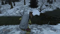 Dead Deer in snow - Killed for meat - dayZRP