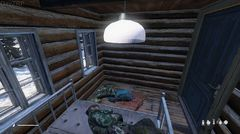Resting in my new camp!