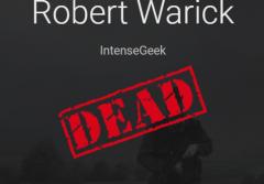 Robert is dead