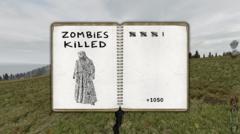 Zombies killed
