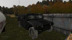 Black Humvee in Three Valleys