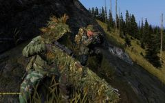Alpha Company Sniper Team