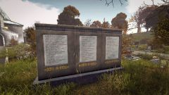 Cemetery Memorial Tablet