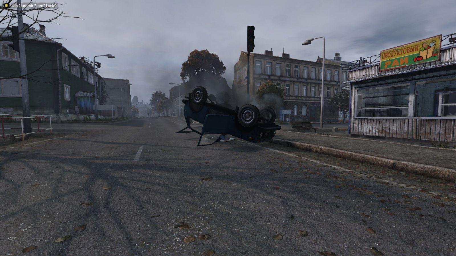 A car crash.
