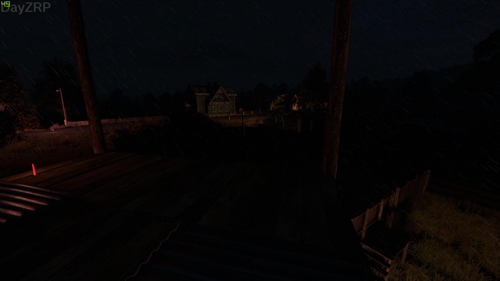 Rainy Night in Pustoshka