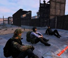 Relaxing at the docks