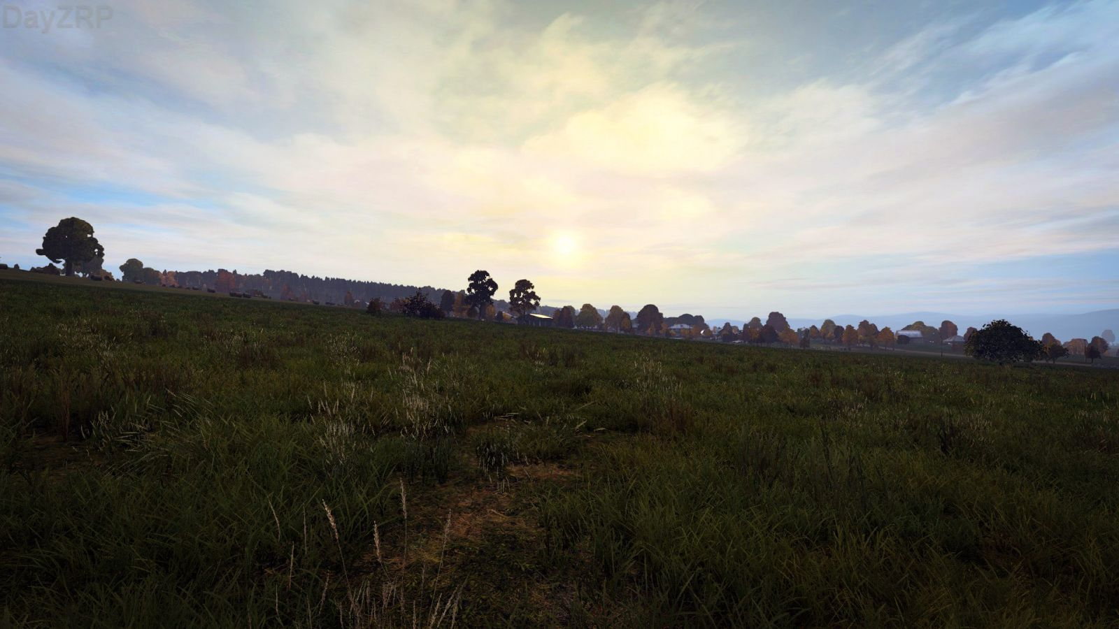 Sunset in Pustoshka