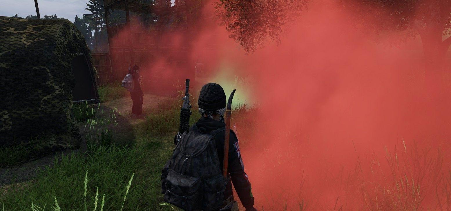 Smoke grenades are fun