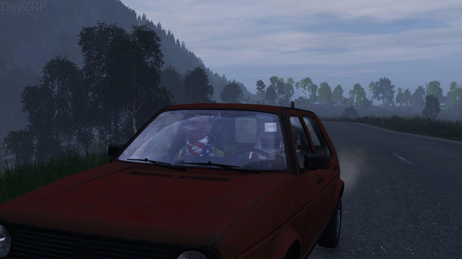 Car trip for planks