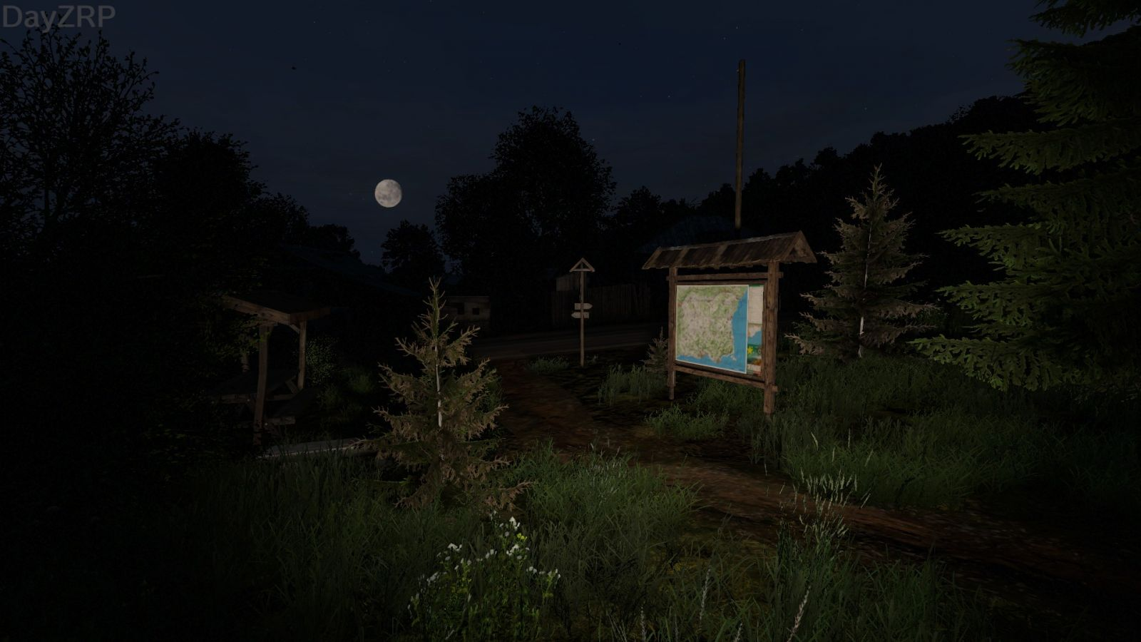 Cool photo of a map and a moon.jpg