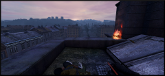 Rooftop snoozin'