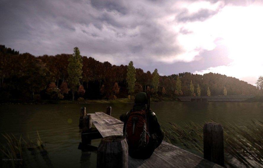 Lovely lake view