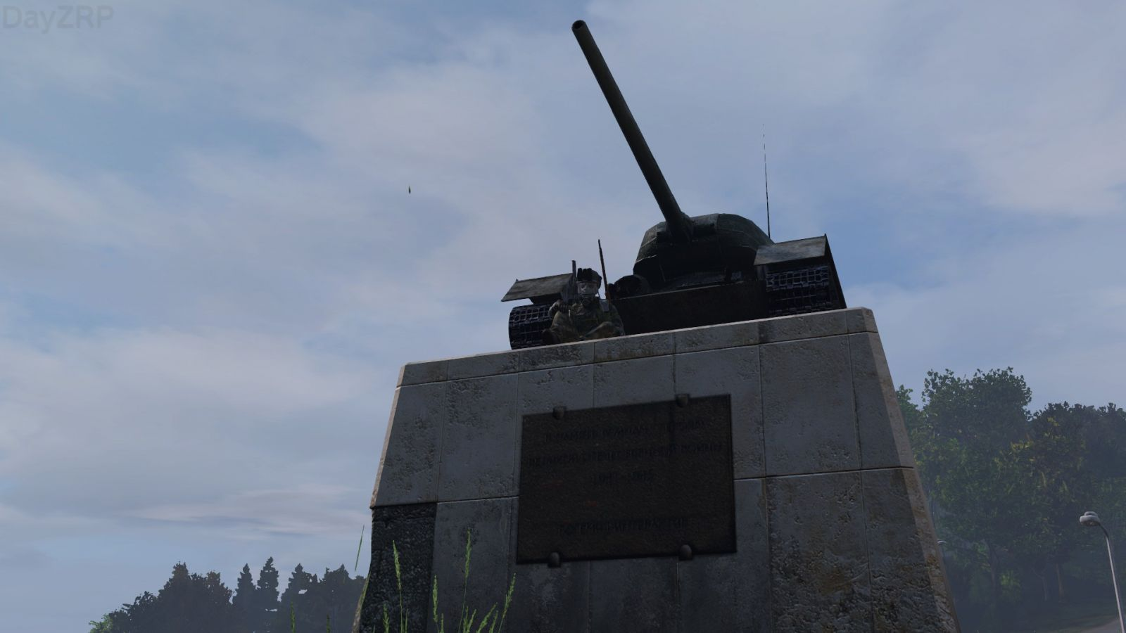 A russian and a german tank
