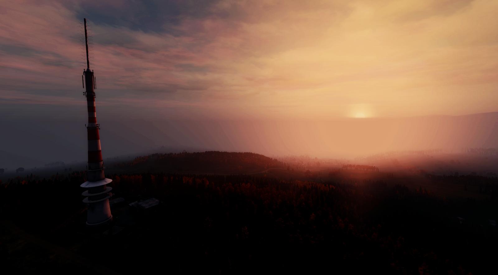 Sunset in Zelen