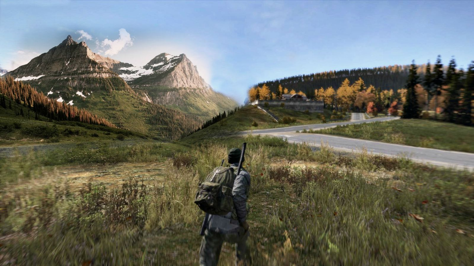 Imagine if Dayz has scenery like this..