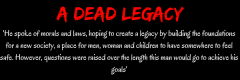A dead legacy