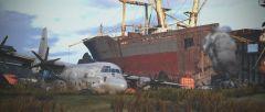 Ship and Plane
