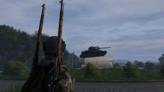 Russian tank!