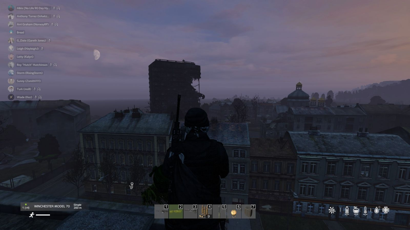 Looking at the plane crashed building from the town hall cherno.jpg