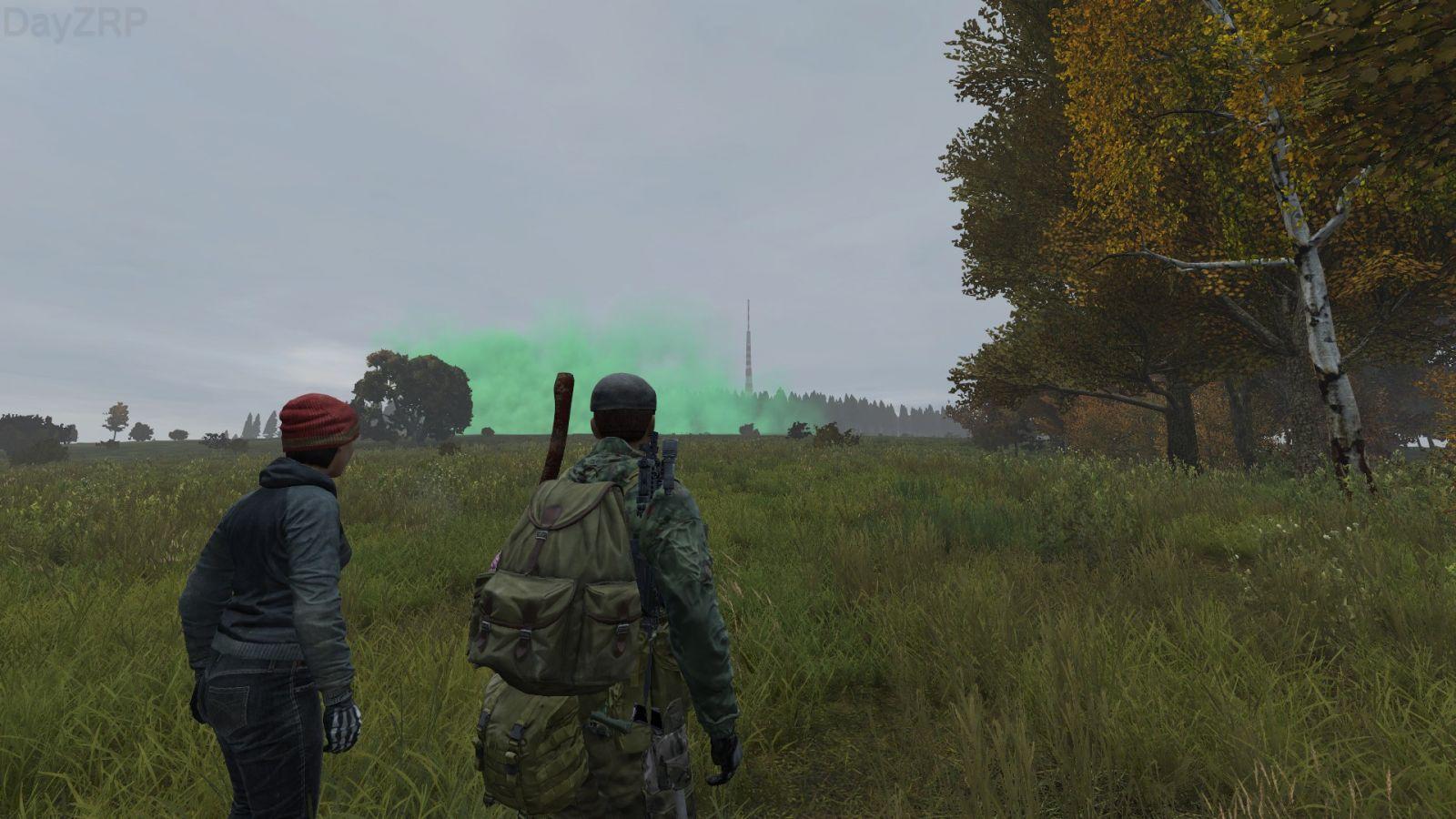 Toxic cloud encounter...