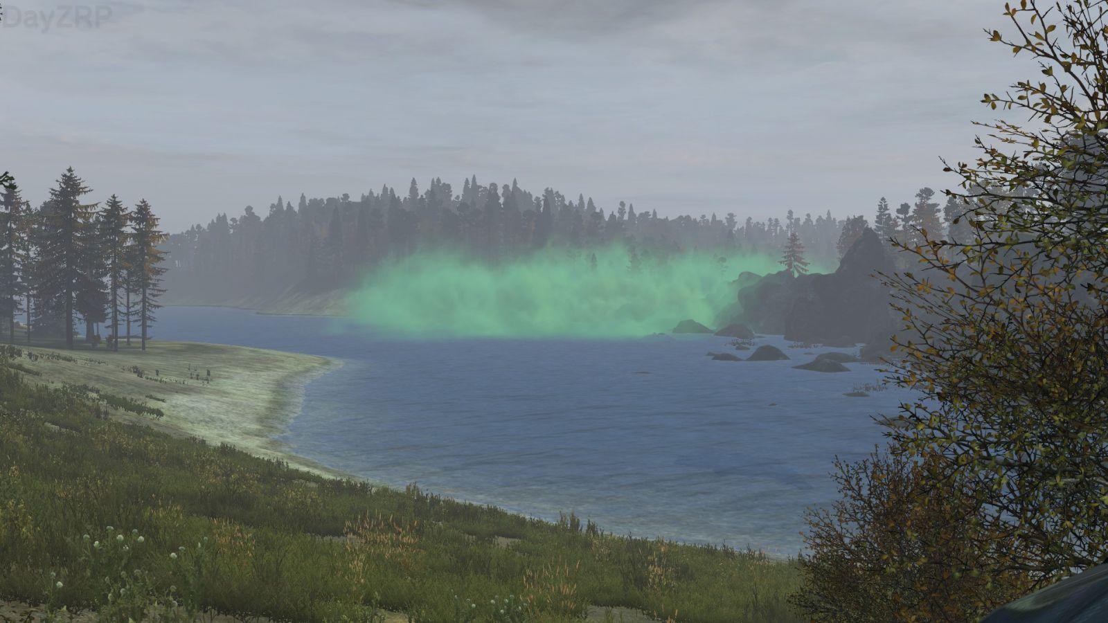 The green cloud?!