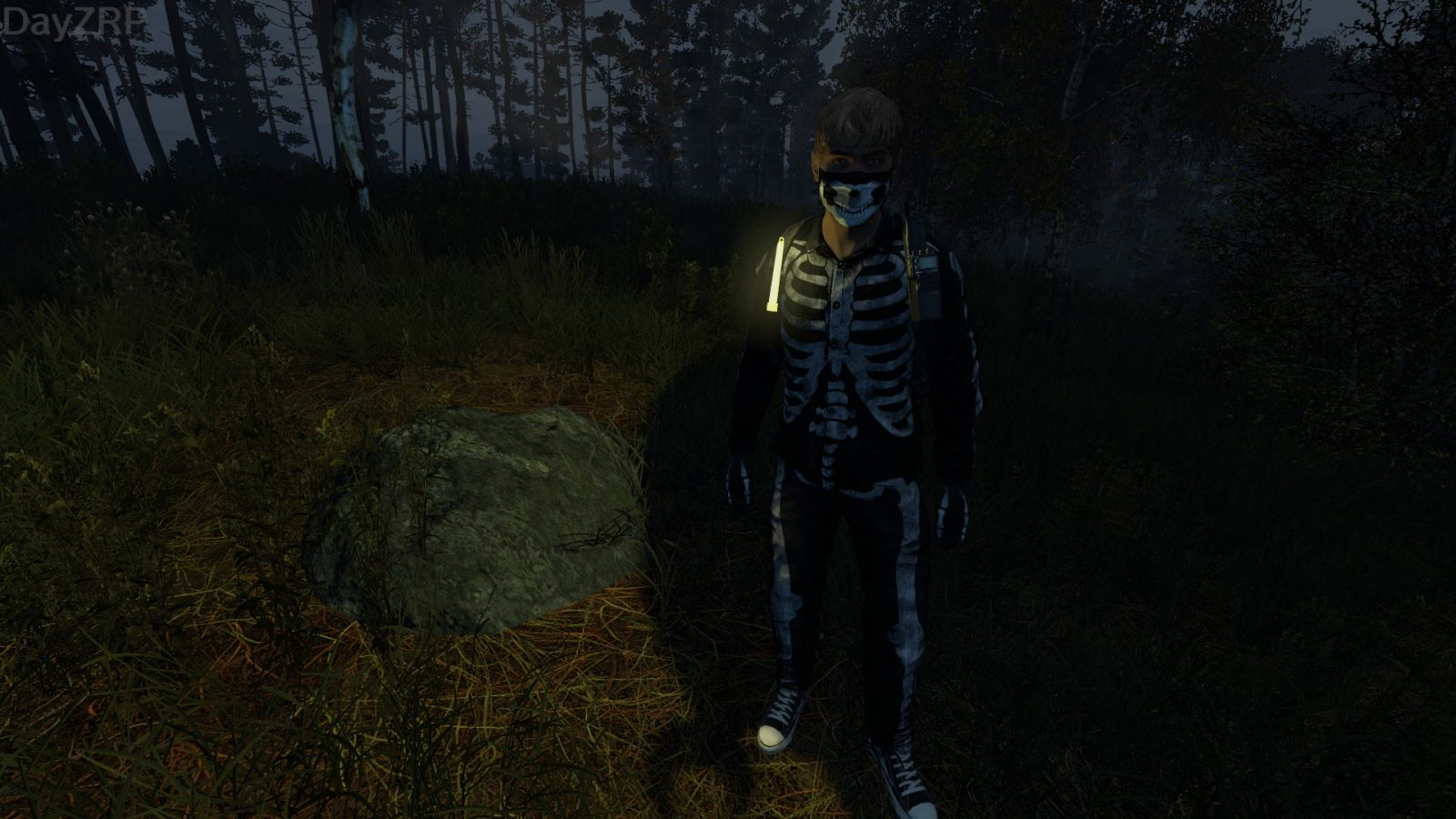 '' Something spooky in the night ''