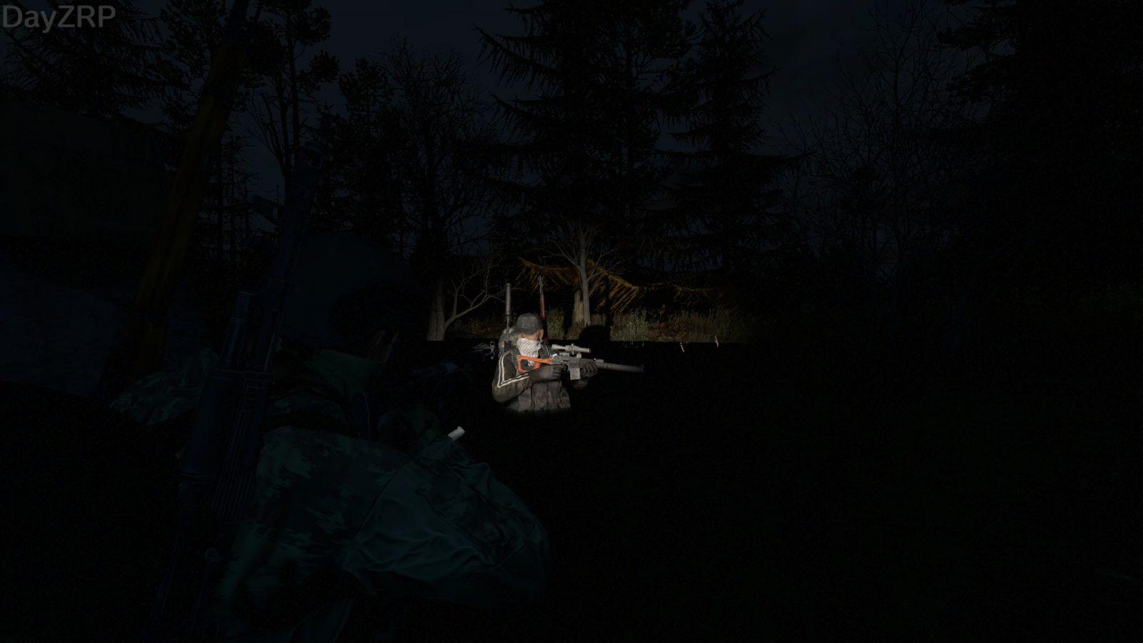 Sniping at night
