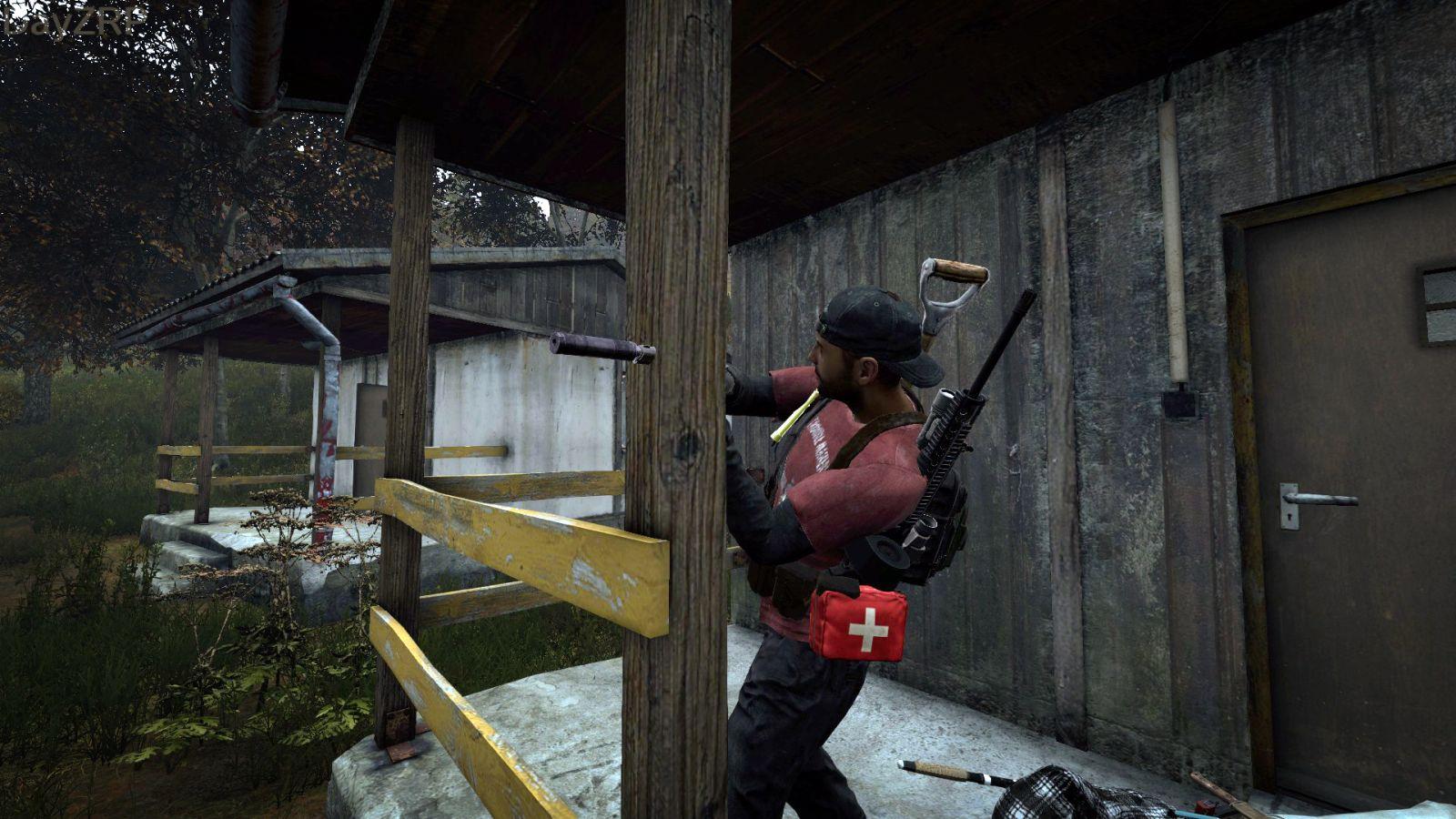 A Pistol Stuck In