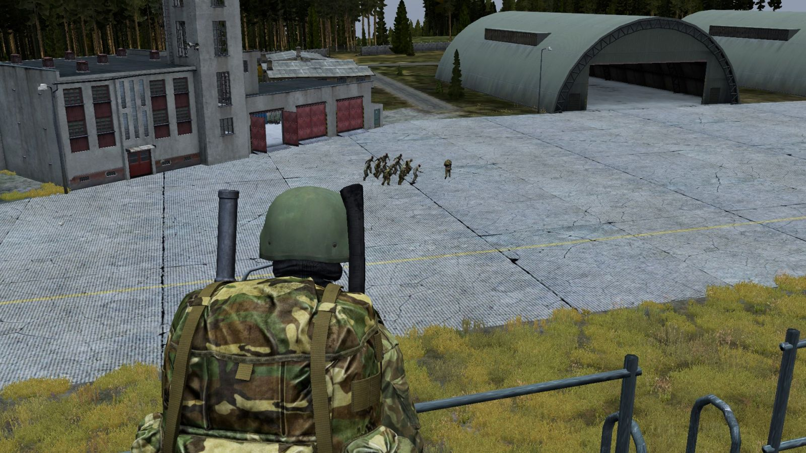 Troubles in the airfield