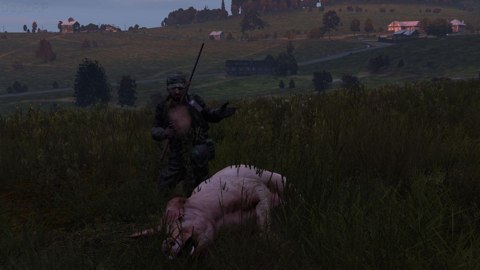 First pig hunt together