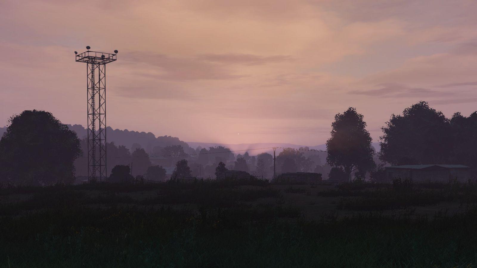 Livonia sunset