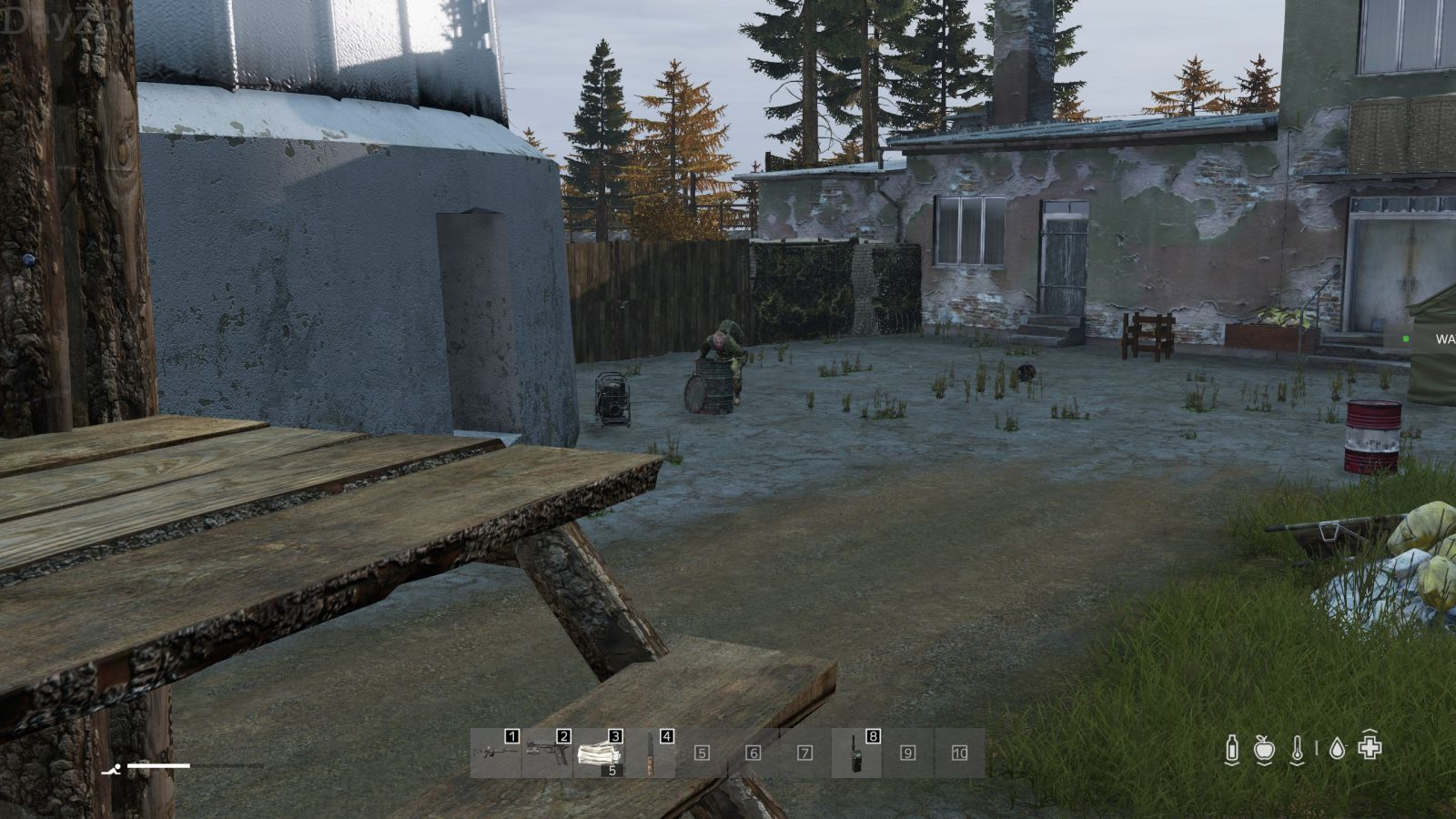How smart are zombies if they can get stuck in a barrel?