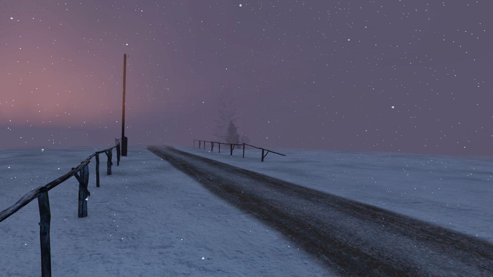 '' Winter wasteland ''
