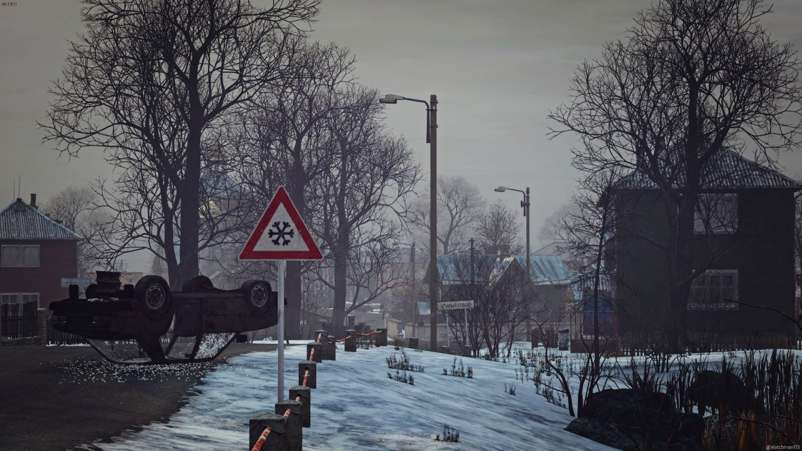 Icy Chernarus Roads