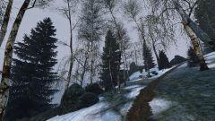 Path in winter wonderland..