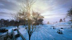 First Winter Light