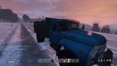 truck sunset!