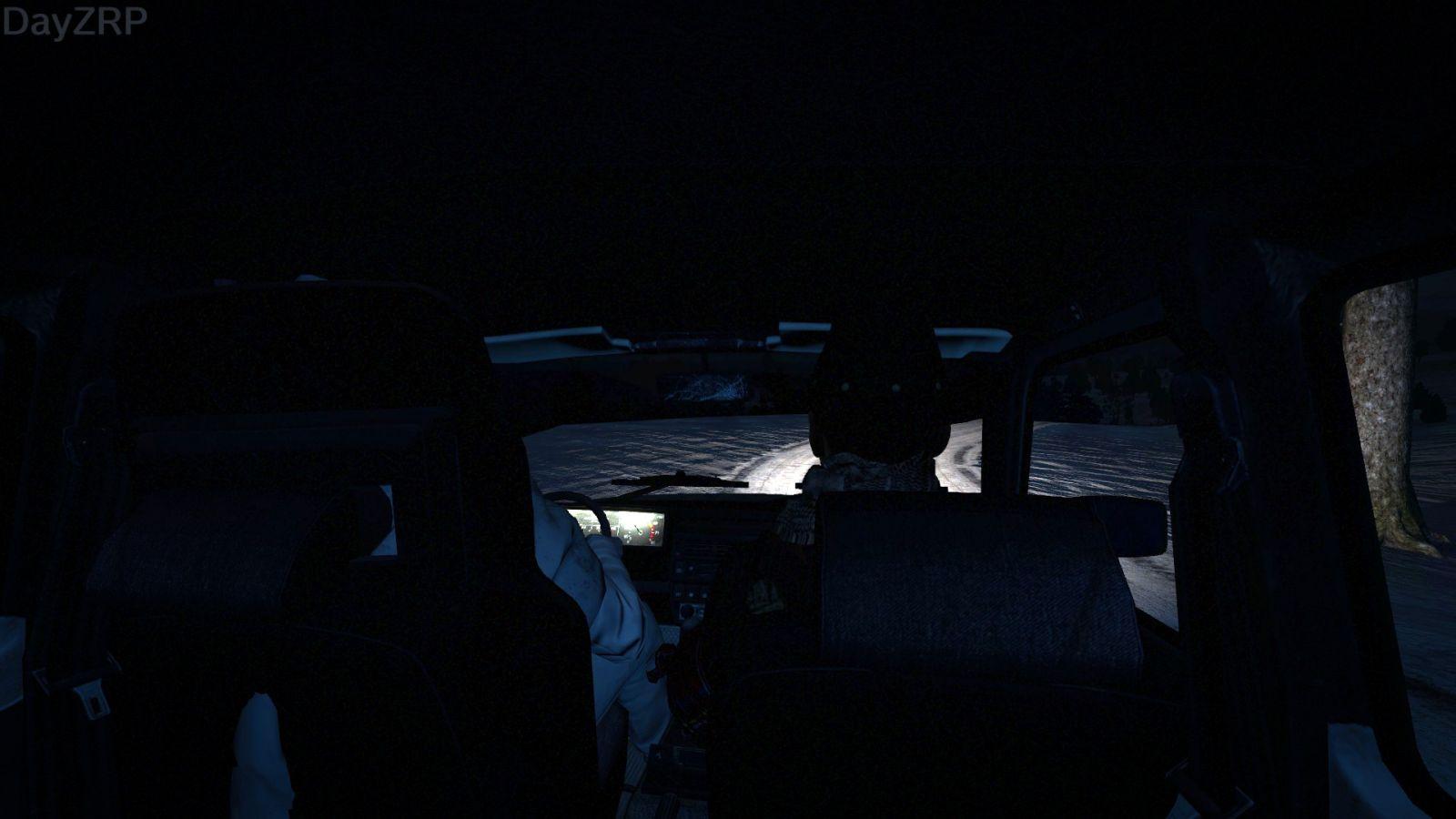 Night Road Trip