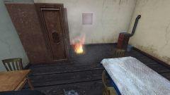 never light fires indoors kids