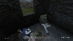 Taking a small nap while waiting for the storm to fuck off