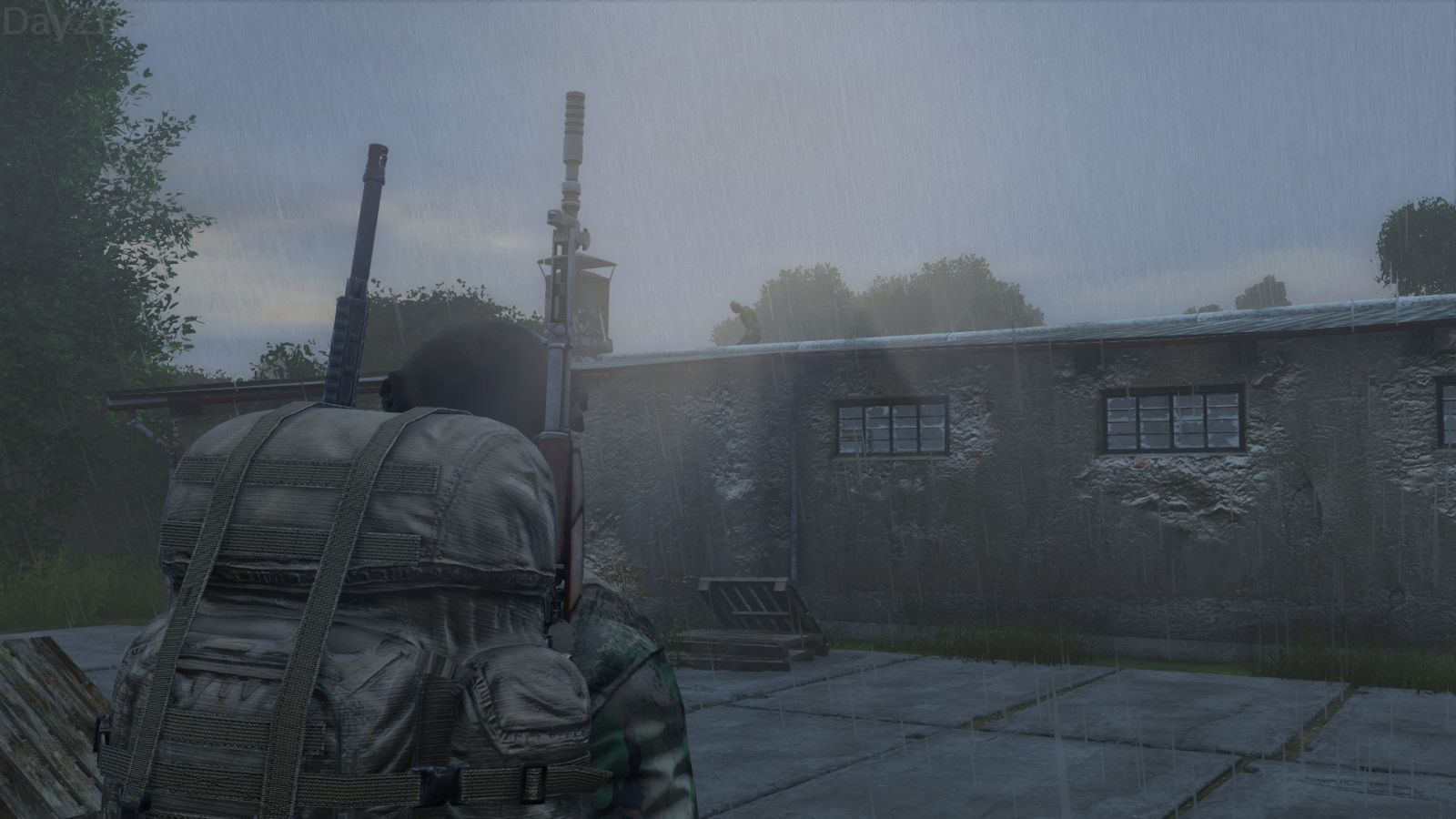 Roof Zombie